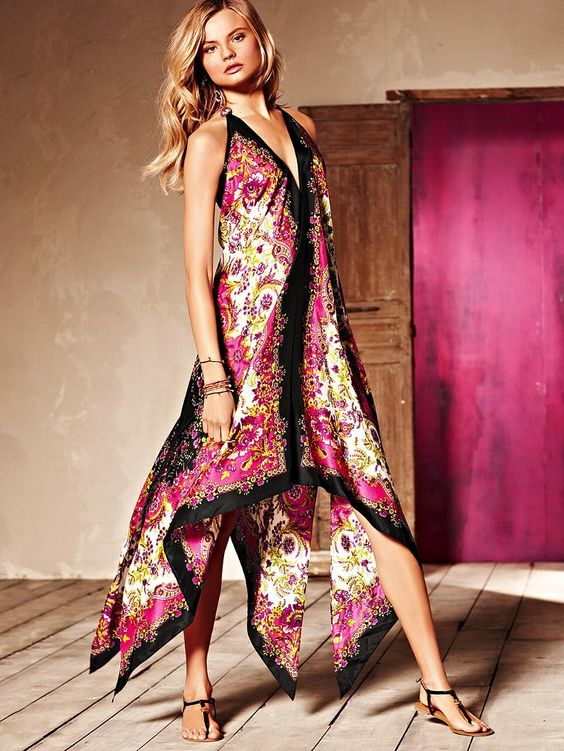 scarf dress victoria secrets