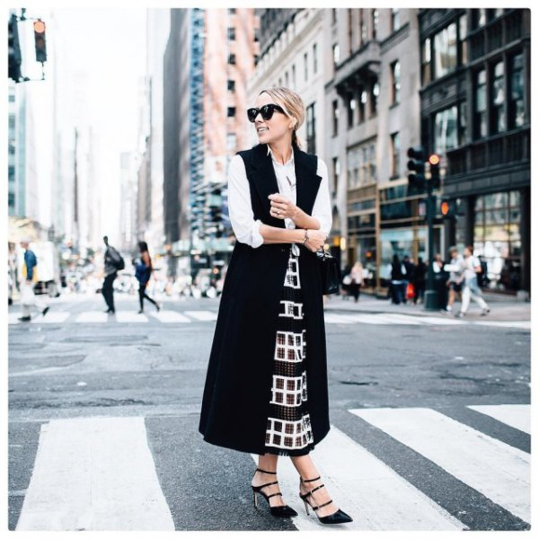 white button up shirt sequin maxi flare skirt