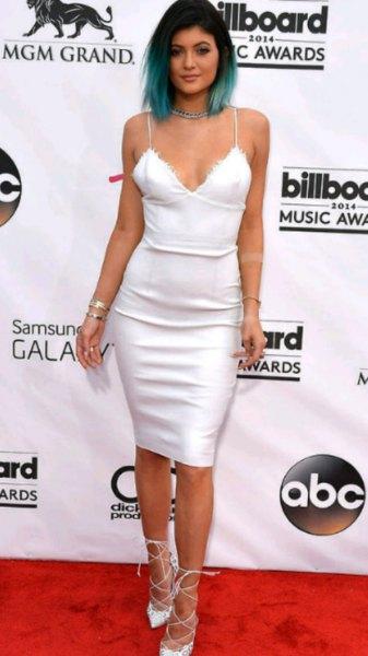white deep v neck cami bodycon dress