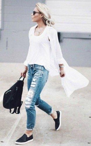 white tank top long shirt dress