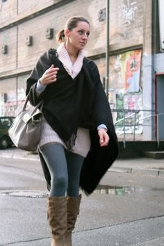 white turtleneck chunky sweater dress