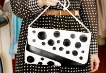 best polka dot purse outfit ideas