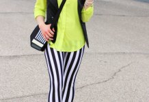 best striped leggings outfit ideas