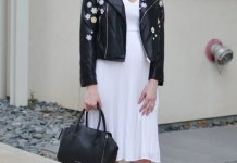 best embroidered leather jacket outfit ideas