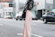 best silk pants outfit ideas