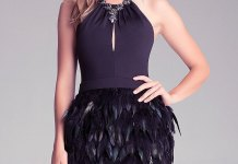 best black feather dress outfit ideas