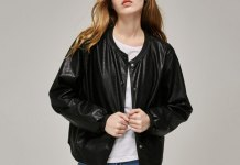 best leather bomber jacket outfit ideas