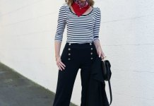 best sailor pants outfit ideas