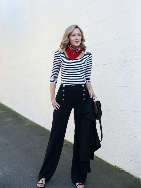 best sailor pants outfit ideas