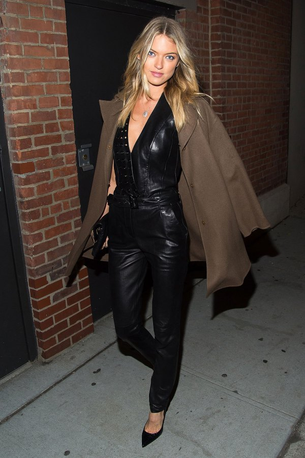 best black leather jumpsuit outfit ideas