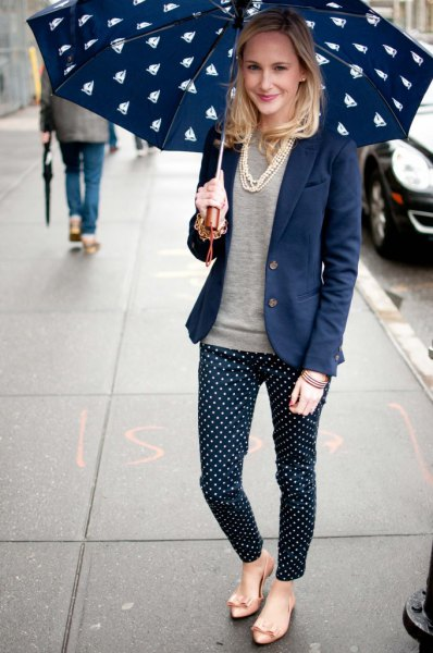 1775bb4af7 15 Amazing & Unique Polka Dot Pants Outfit Ideas - FMag.com