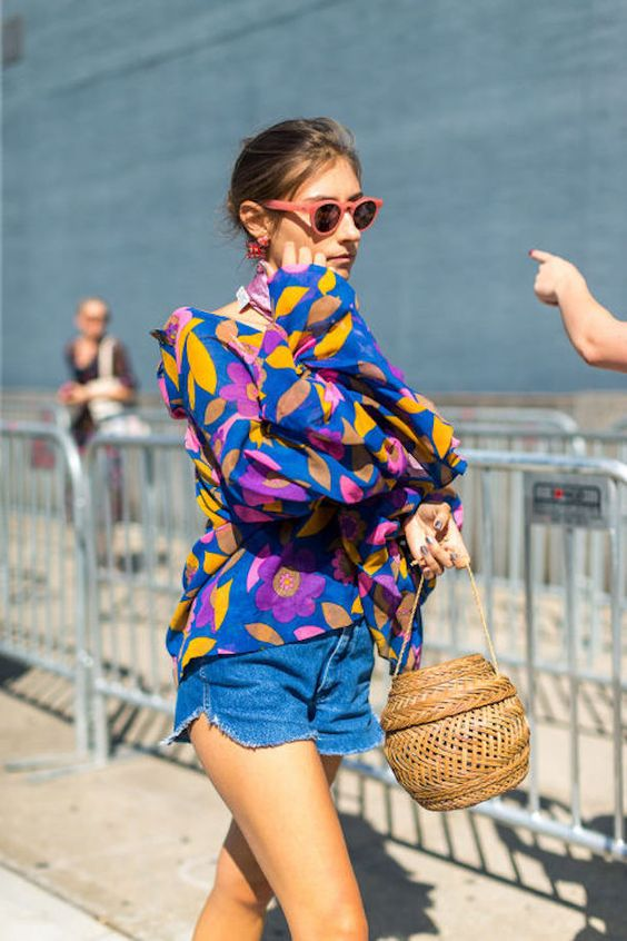 flowy tops colorful
