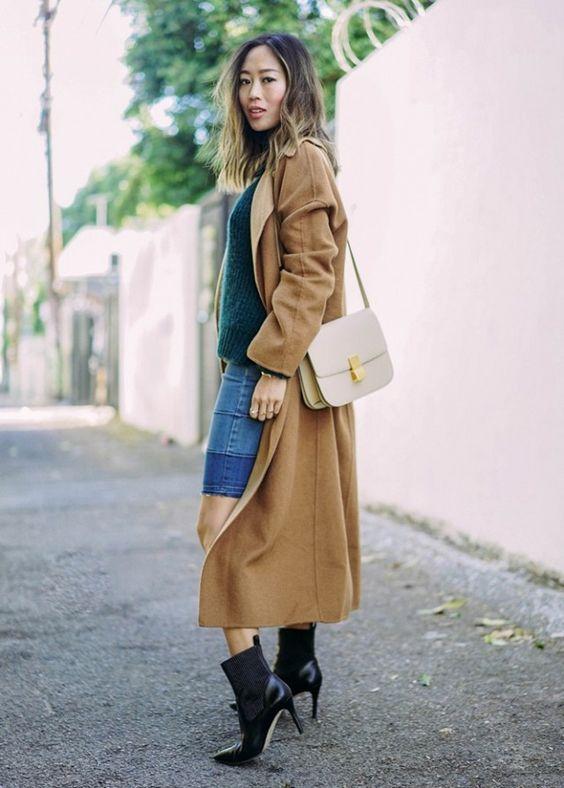 leather shoulder bag aimee