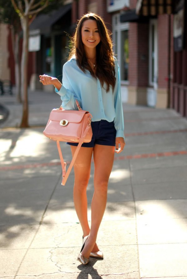 best dressy shorts outfit ideas