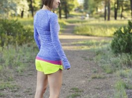 best running shorts outfit ideas for women