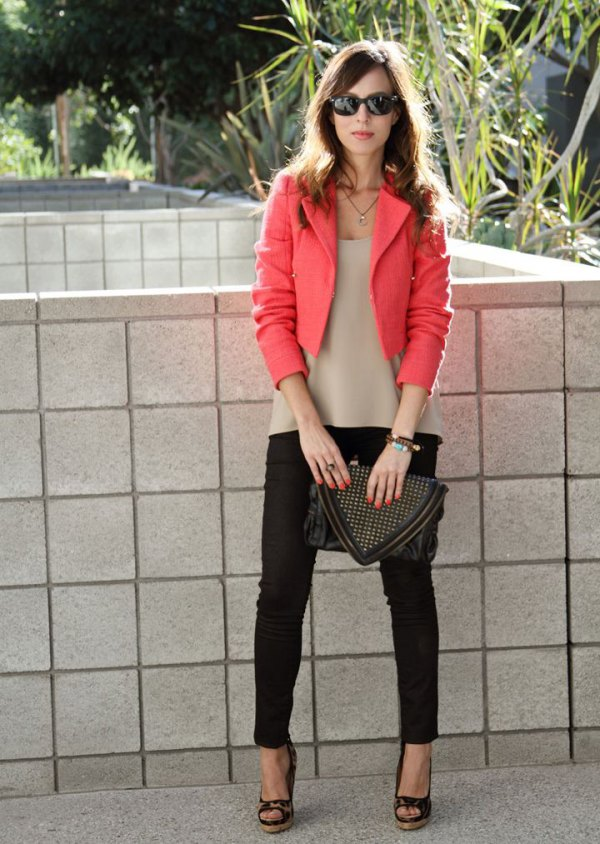 best cropped blazer outfit ideas