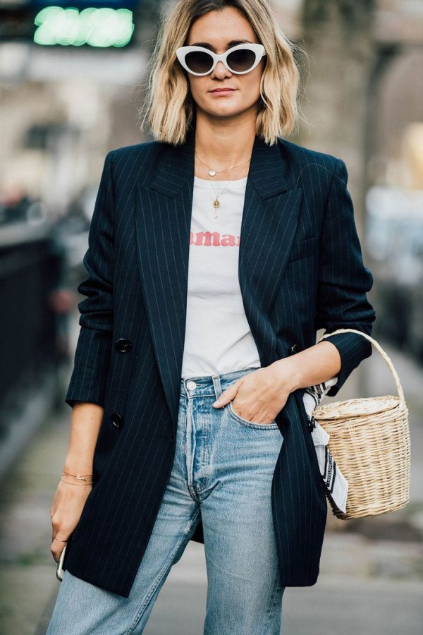 best boyfriend blazer outfit ideas