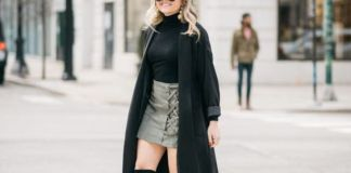 black duster coat layers