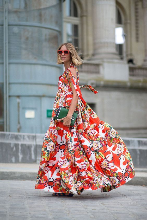 floral cold shoulder dress italian style