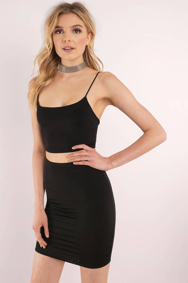 best two-piece bodycon dress outfit ideas