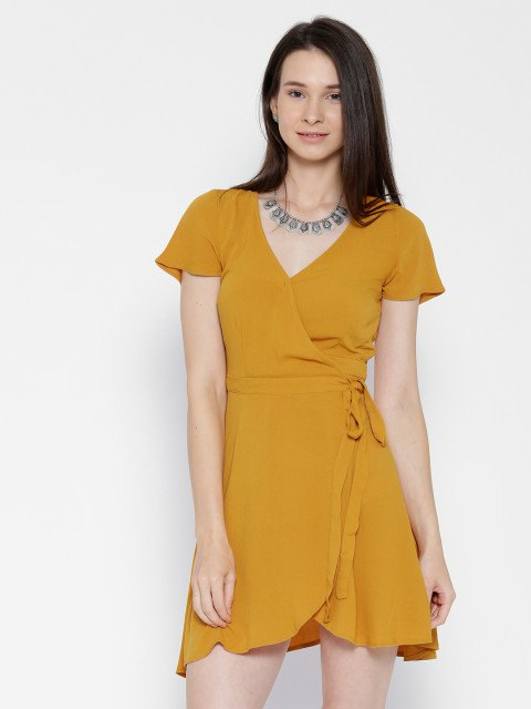 15 Lovely Mustard Yellow Dress Outfit