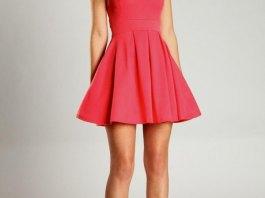 best pink skater dress outfit ideas