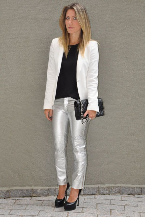 best silver jeans outfit ideas for ladies