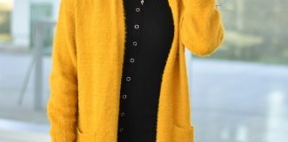 best yellow cardigan outfit ideas for women