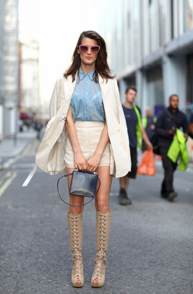 How To Wear Open Toe Knee Hight Boots Top 12 Outfit Ideas