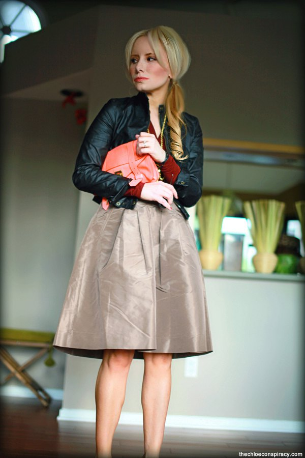 best taffeta skirt outfit ideas