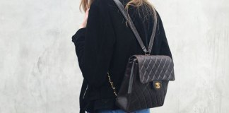 1446b87a51f2 How to Wear Backpack Purse  15 Lovely   Youthful Outfit Ideas
