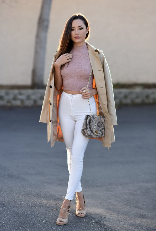 15 Lean \u0026 Stylish High Waisted Skinny Jeans Outfit Ideas for