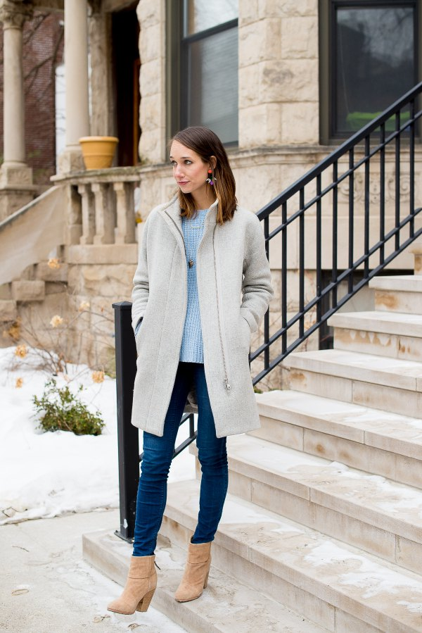 best cocoon coat outfit ideas for ladies