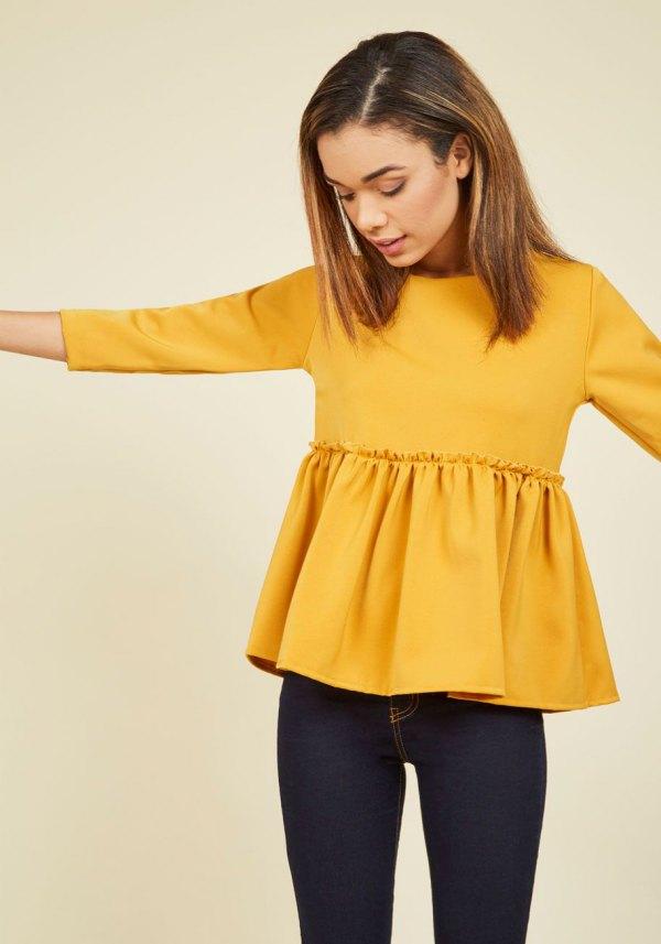 Livraison Gratuite Choisir Un Meilleur Prix Extrêmement Pas Cher Only Long Sleeved Sweat Dress Women yellow Rfpli8iA