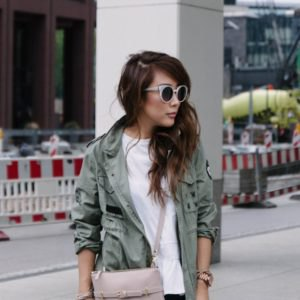 grey travel blazer with white t shirt