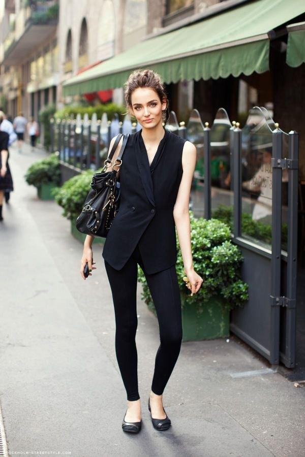 best black ballet flats outfit ideas