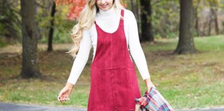 best corduroy dress outfit ideas for women
