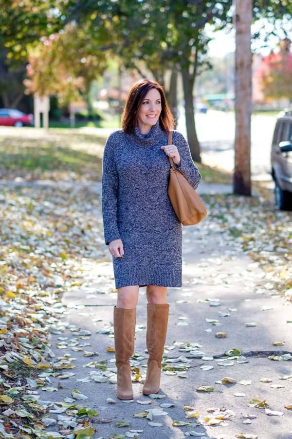 How To Style Turtleneck Sweater Dress Best 13 Ladylike