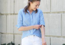 best cotton shorts outfit ideas for women