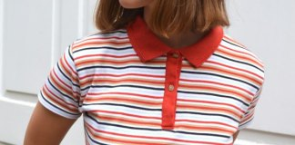 best striped polo shirt outfit ideas for women