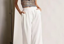 best sequin halter top outfit ideas for women