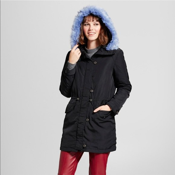 best black parka jacket outfit ideas for women