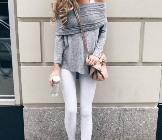 best white leggings outfit ideas for women