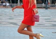 best gold sandal heels outfit ideas for women