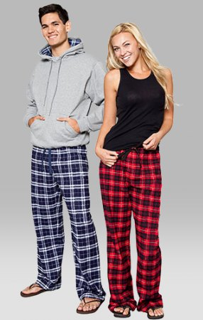 black tank top with red plaid flannel wide leg pants