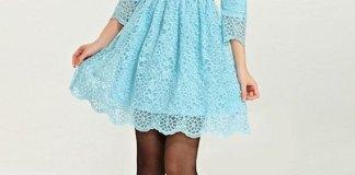 best light blue lace dress outfit ideas for women