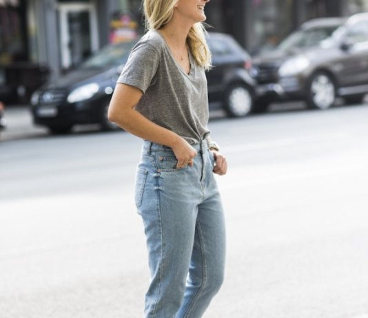 best mama jeans outfit ideas for women