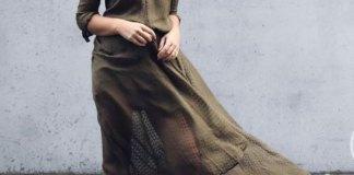best khaki dress outfit ideas for women