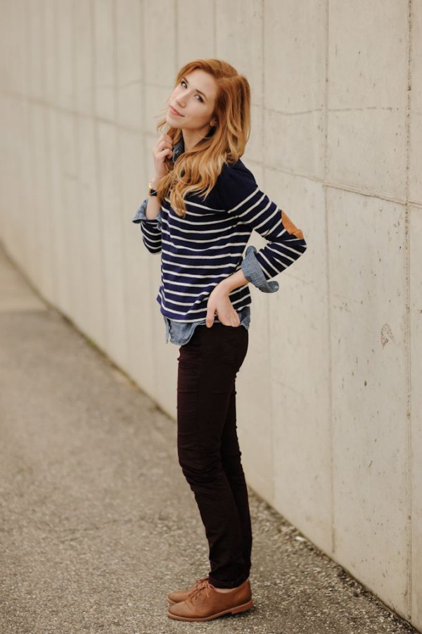 How To Wear Brown Oxford Shoes Best 13 Stylish Outfit Ideas For Women Fmag Com