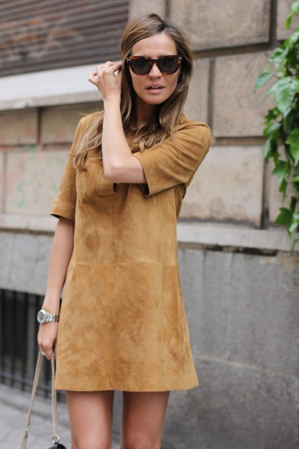 best brown dress outfit ideas for women